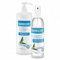 BARBICIDE HAND DISINFECTION...