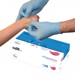 Rękawice nitrylowe...